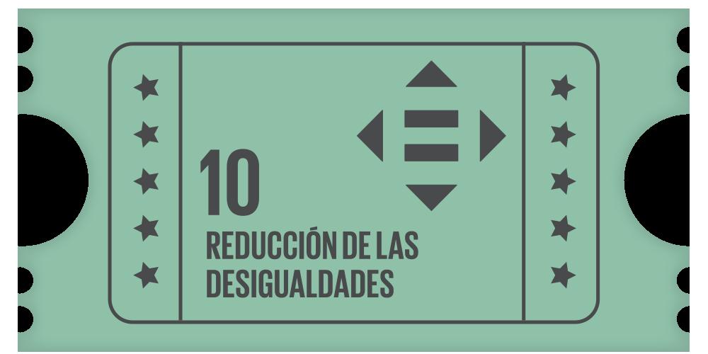 10- Reducción de las desigualdades